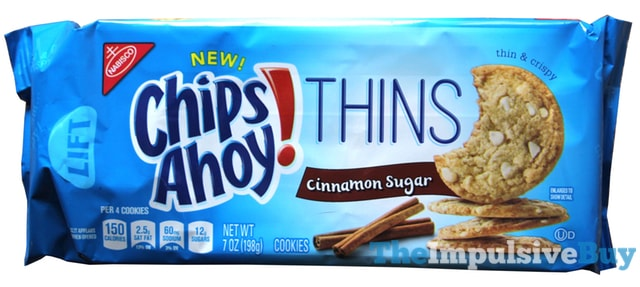 Chips Ahoy Thins Cinnamon Sugar Cookies