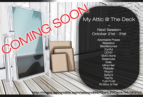 My Attic October 21st COMING SOON