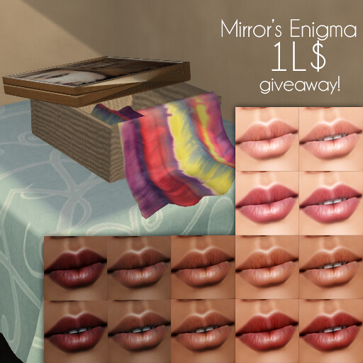 Mirror's Enigma at The Boho Culture Fair 1LGiveaway