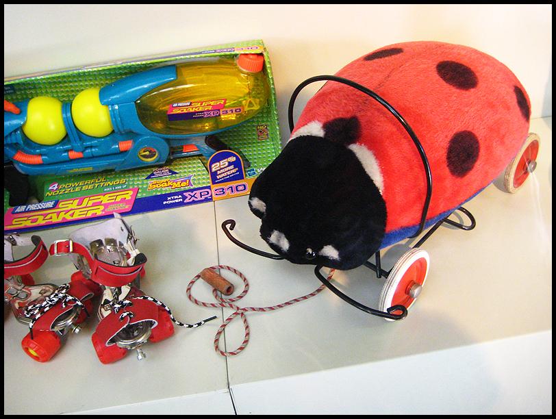 Ladybird toy