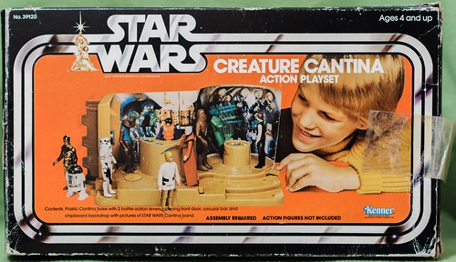SW00029 01 #BP# [Kenner] ?Creature Cantina Action Playset?