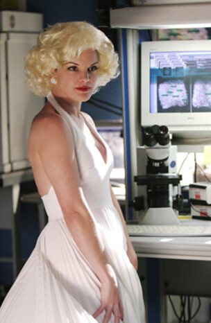 Abby as Marilyn