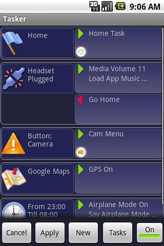 Tasker — Alternativa Smartactions para Android