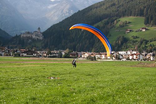 Janita after landing