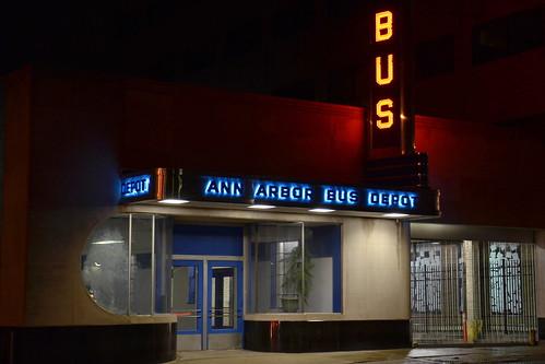 Ann Arbor Greyhound depot