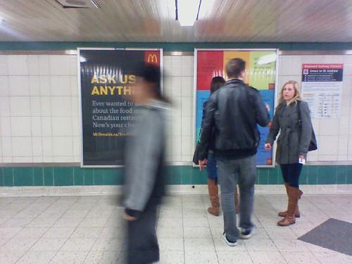 Debating McDonald's