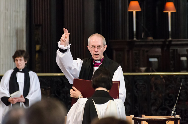 Justin Welby is made Archbishop of Canterbury at St Paul's