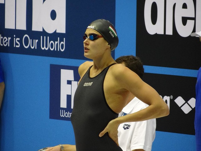 Zsuzsanna Jakabos at the Berlin 2012 World Cup