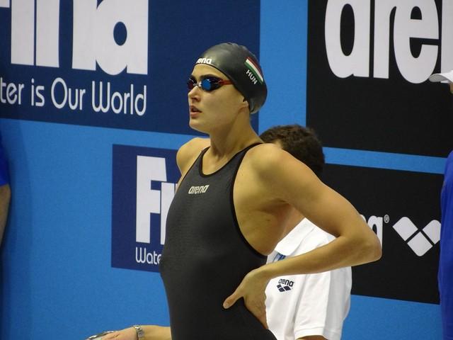 Zsuzsanna Jakabos at the Berlin 2012 World Cup