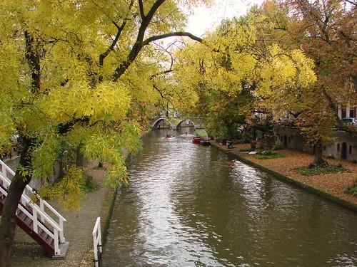 Autumn on the Oudegracht
