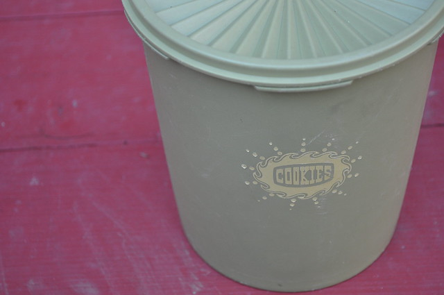 Tupperware Cookie Canister