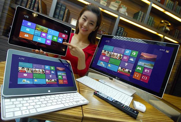 LG H160 sling tablet: ¿el futuro de los dispositivos Windows 8?
