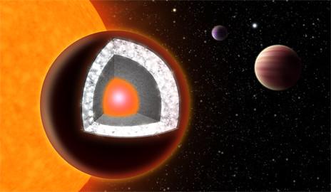 Planeta de diamante