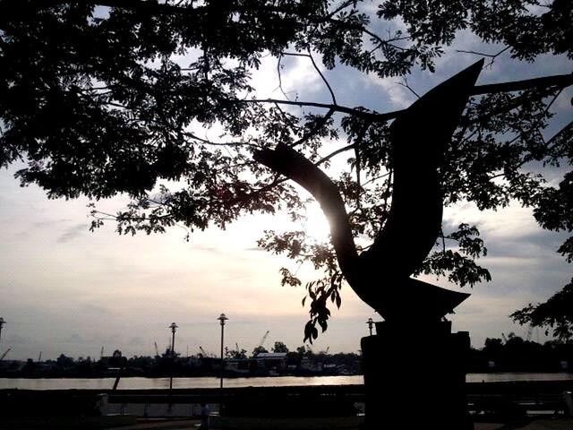 Sibu riverfront