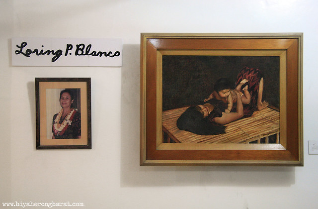 loring blanco's mother and child paintings