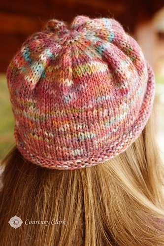 The Hat - Kool-Aid Dyed Yarn Project Finished!