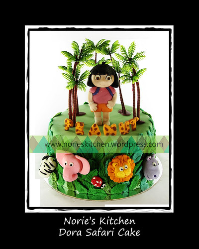 Norie's Kitchen - Dora Safari Cake by Norie's Kitchen