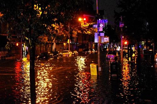 Hurricane Sandy Flooding Avenue C 2012