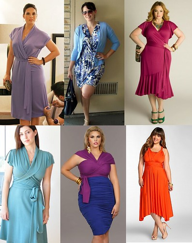 Abbey 3.0 Wishlist Inspiration - Item 4 Wrap Dresses