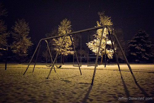 First Snow, North Boulder Park