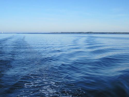Flat wake on the Pungo River