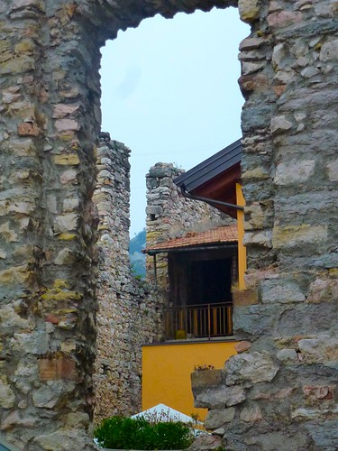 old walls in nago