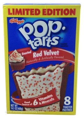 Limited Edition Frosted Red Velvet Pop-Tarts