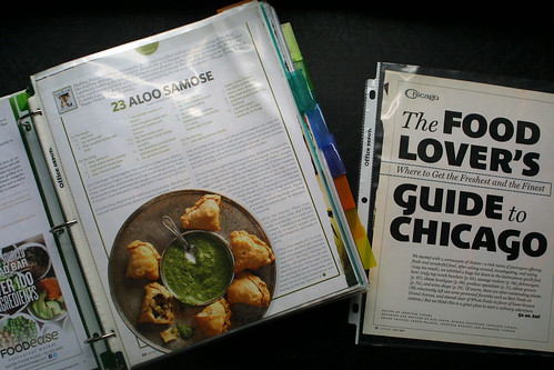 Recipes and things