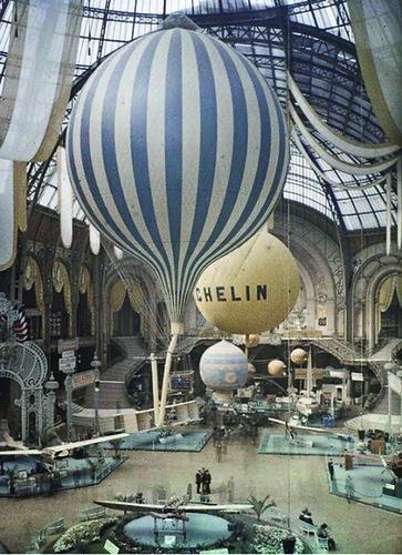 Exhibition at the Grand Palais - 1909