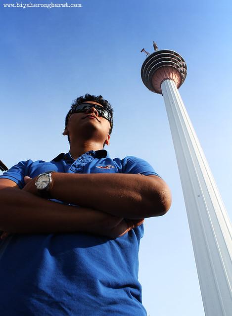 Paulo Payumo at KL Tower Malaysia