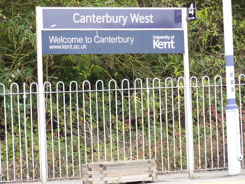 Canterbury West Station/UKC