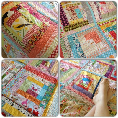 Cheeky quilt instacollage