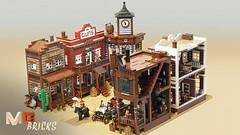 Modular Western Town - LEGO CUUSOO