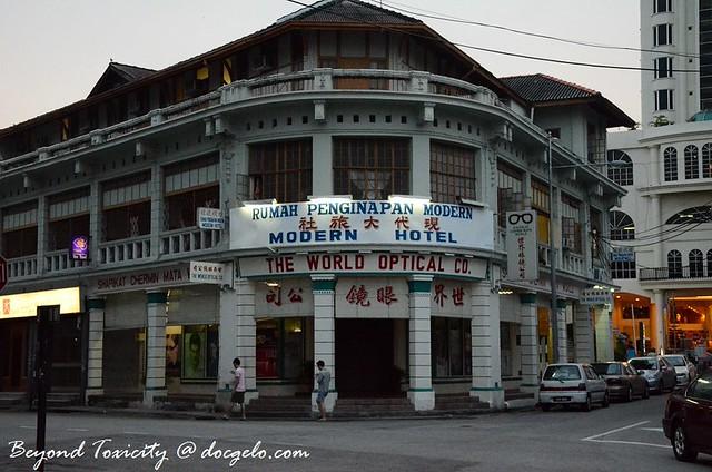 modern hotel munti street george town penang
