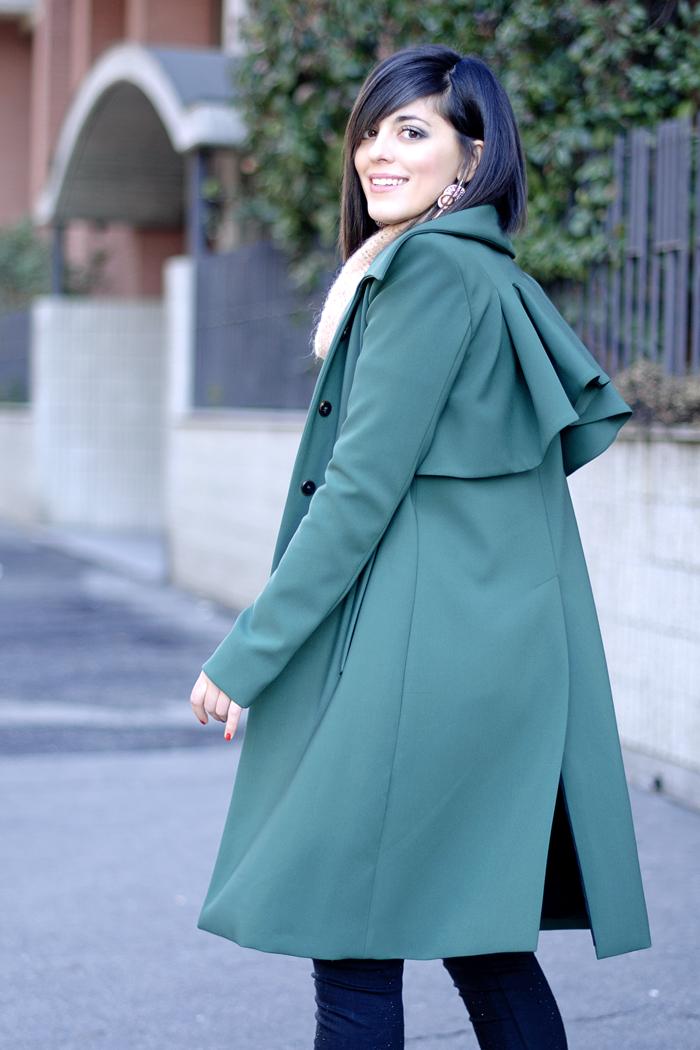 Green coat a
