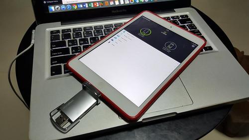 ลองใช้ gosh! LynkDisk กับ iPad Mini 1