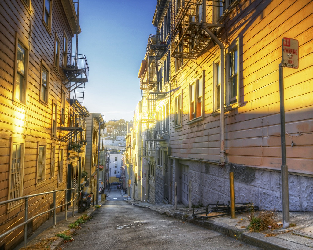 Back Streets of San Francisco