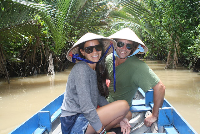 Cruising Ben Tre in the Mekong Delta