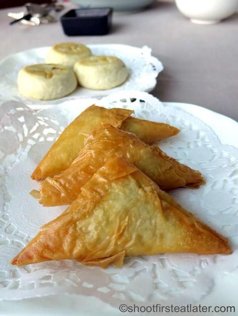 crispy cod fish pastry HK$45