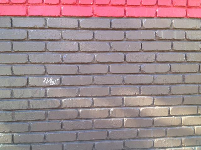 Random wall, Divisadero Street