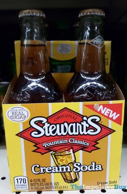 Stewart's Fountain Classics Cream Soda Made with Real Sugar