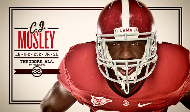 Alabama LB CJ Mosley