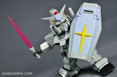 SDGO RX-78-2 (G3 Rare Color Variation) Unboxing & Review - SD Gundam Online Capsule Fighter (33)