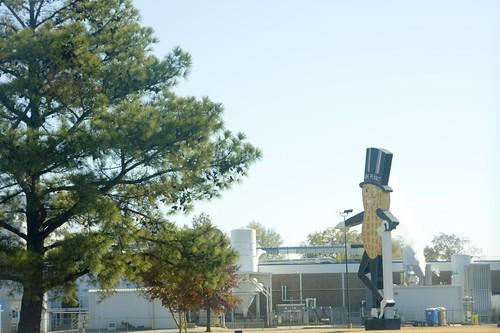 Mr. Peanut factory