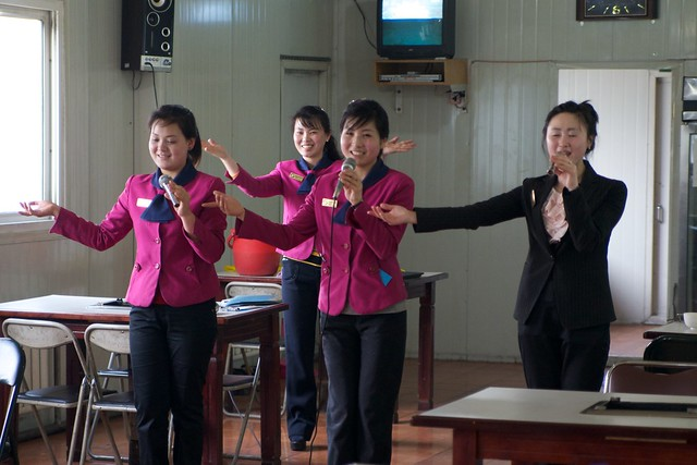 Pyongyang Dancing BBQ Girls