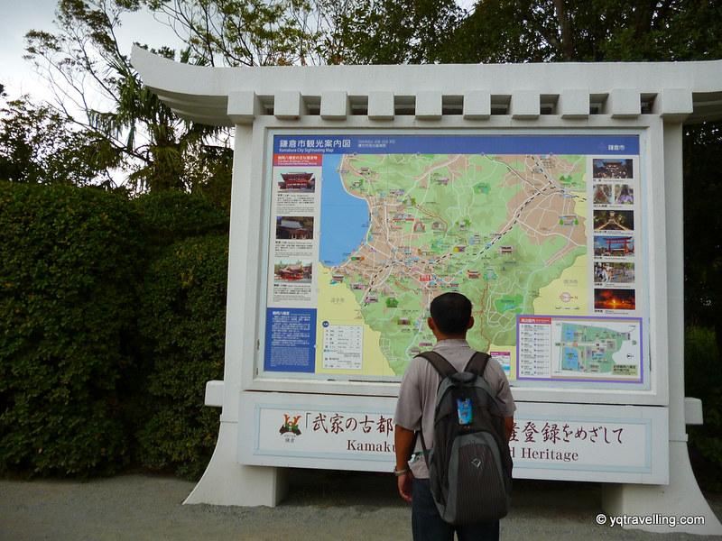 Map of Kamakura