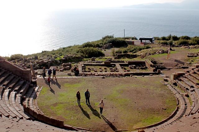 Assos amphitheatre