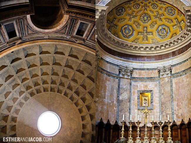 The Pantheon When in Rome Day 1 | What to do and see in Rome in 48 hours | Travel Photography