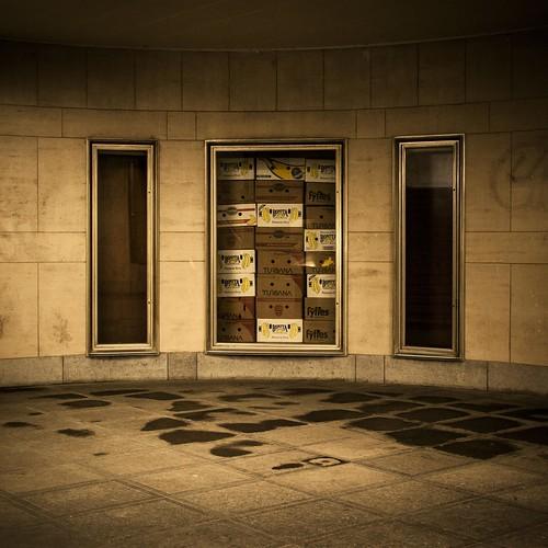 (No Way) Out of the Box (Gare de Bruxelles-Congrès, Belgium) - Photo : Gilderic