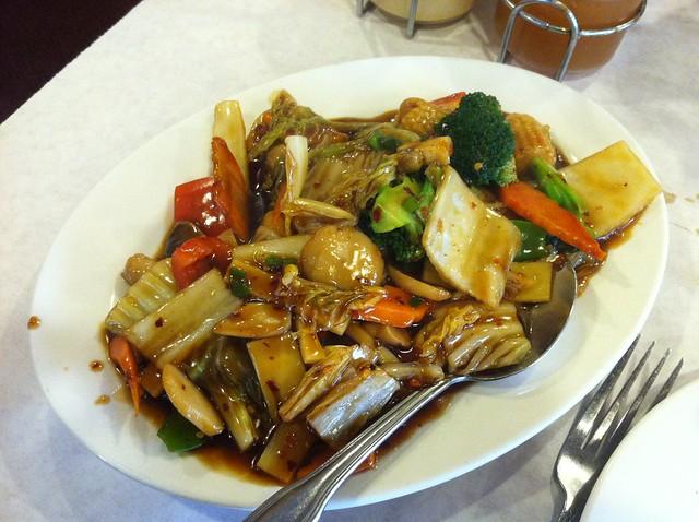 Hunan veggies from Lao Sze Chuan